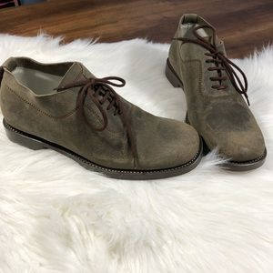 🇮🇹 Fausto Santini Womens Oxford Leather Shoes